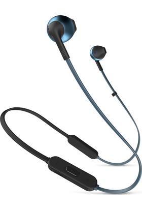 JBL T205BT Bluetooth Mikrofonlu Kulakiçi Mavi Kulaklık