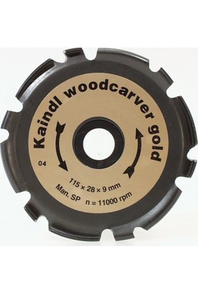 Kaindl Woodcarver Gold 115 mm Ahşap Şekillendirme Bıçağı