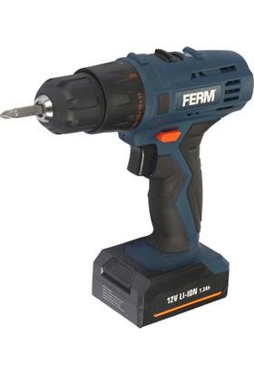 Ferm Power Cdm1129 Akülü Lı-Ion Vidalama 12V 1,3Ah