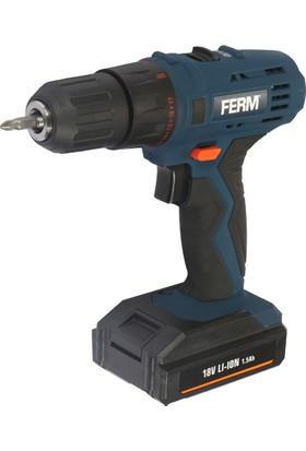 Ferm Power Cdm1120 Akülü Lı-On Vidalama 18V 1,5Ah