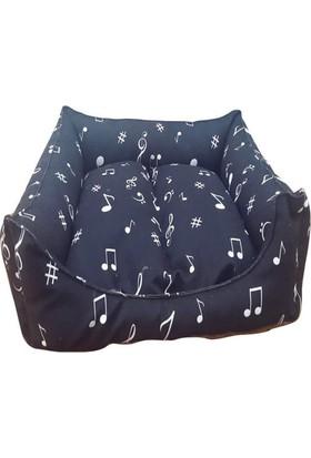 Mrs.Pillow Masal 11 Desenli Kedi Ve Köpek Yatakları 45 x 45 Cm Çap