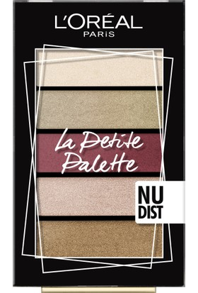 Loreal Paris Mini Palettes- Nudist Far Paleti