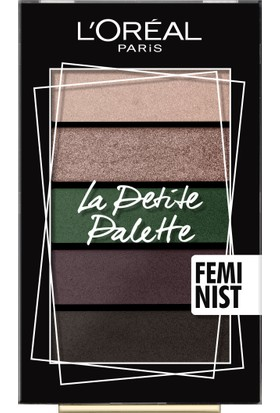 Loreal Paris Mini Palettes- Feminist Far Paleti