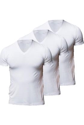 Thermoform 3'lü Bambu Reglan Kol T-Shirt