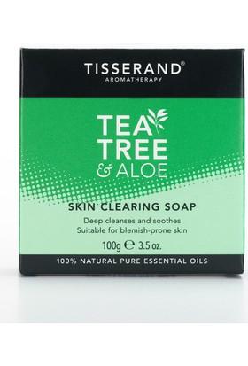 Tisserand Aromatheraphy Çay Ağacı & Aloe Vera Cilt Bakım Sabun 100Gr