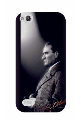 Kapakolur Discovery 1 Atatürk Baskılı Kapak Kılıf + Ekran Koruyucu Cam