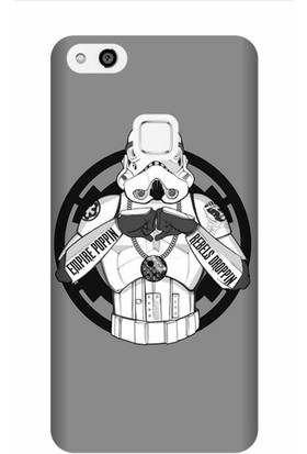 Kapakolur Huawei P10 Lite Starwars Baskılı Kapak Kılıf + Ekran Koruyucu Cam