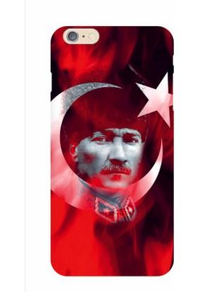 Kapakolur iPhone 6/6S Plus Atatürk Kapak Kılıf + Ekran Koruyucu Cam