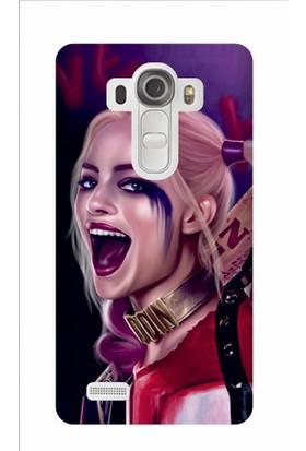 Kapakolur LG G4 Stylus Harley Quinn Kapak Kılıf + Ekran Koruyucu Cam