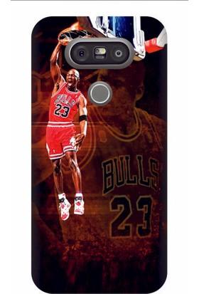 Kapakolur LG G5 Jordan Kapak Kılıf + Ekran Koruyucu Cam