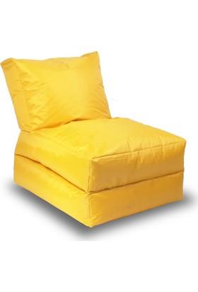 Minderim Asos Şezlong Sarı