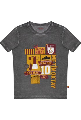 Gs Store Galatasaray Lisanslı Metin Oktay Hatıra Çocuk T-Shirt