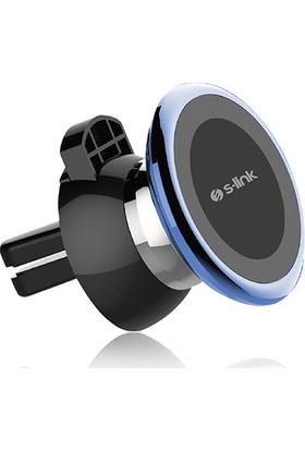 S-Link SL-AT13 Universal Ayarlanabilir Mavi Mıknatıslı Araç Telefon Tutucu