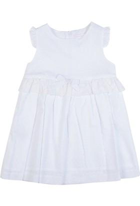 Goose Kız Çocuk Beli Dantellı Bebek Elbisesi