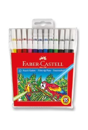Faber-Castell Keçeli Kalem 12 Renk Yıkanabilir