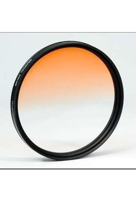 AZT 72mm Gradual Degrade Kademeli Turuncu Orange Efekt Filtre