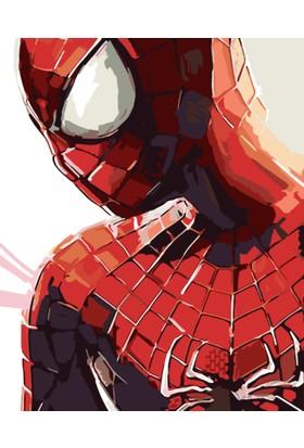 Eron Sanat Spiderman Numaralı Boyama Setleri Zorluk Seviyesi 1