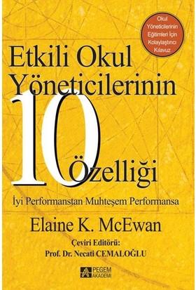 Etkili Okul Yöneticilerinin 10 Özelliği - Elaine K. Mcewan
