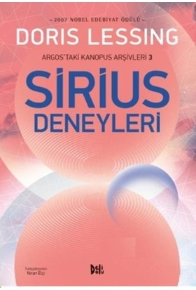 Sirius Deneyleri:Argos'Taki Kanopus Arşivleri 3 - Doris Lessing
