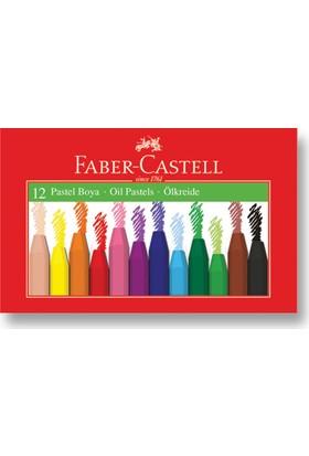 Faber-Castell Karton Kutu Pastel Boya, 12 Renk