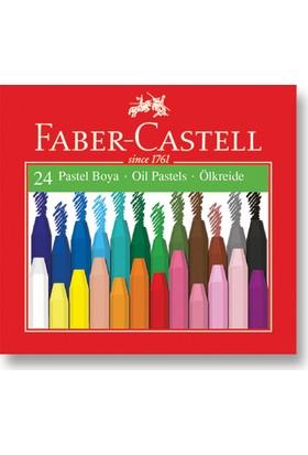 Faber-Castell Karton Kutu Pastel Boya, 24 Renk