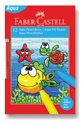 Faber-Castell Aqua Pastel Boya, 12 Renk