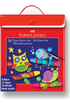 Faber-Castell Pastel Boya 36'lı Plastik Karışık Set