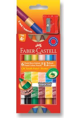 Faber-Castell Çift Taraflı Mum Boya 12 Renk