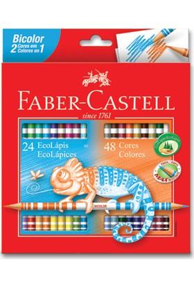 Faber-Castell Bicolor Boya Kalemi, 48 Renk