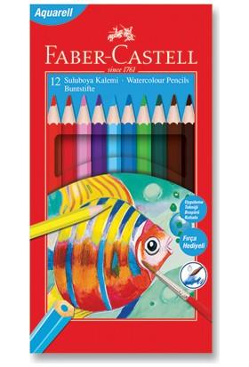 Faber-Castell Karton Kutu Aquarell Boya Kalemi 12 Renk