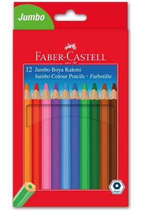 Faber-Castell Jumbo Boya Kalemi 12 Renk