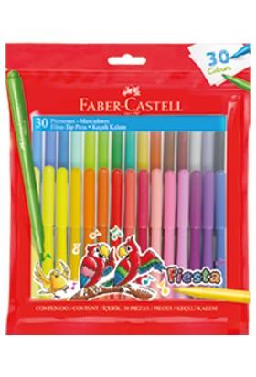 Faber-Castell Fiesta Keçeli Kalem 30'lu