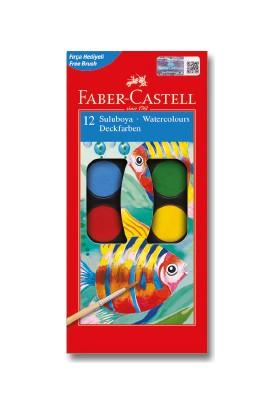 Faber-Castell Suluboya, 12 Renk Küçük Boy