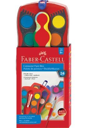 Faber-Castell Değiştirilebilir Tablet Suluboya, 24 Renk