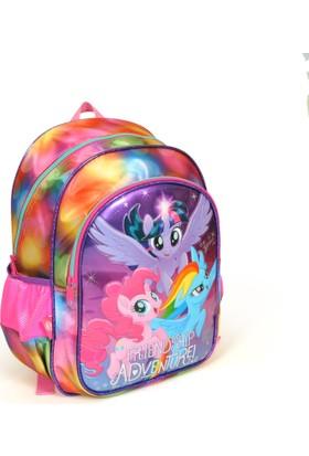 Yaygan My Little Pony Kabartmalı Okul Sırt Çantası 43081 (İki Bölmeli)