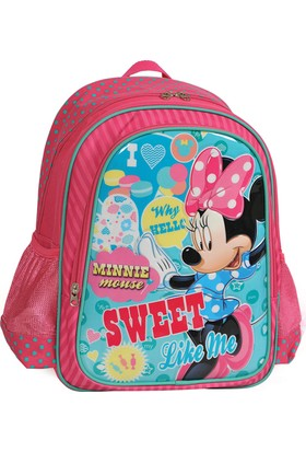 Minnie Mouse Okul Sırt Çantası (73125)