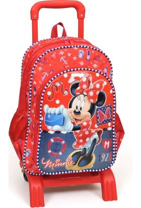 Minnie Mouse Çekçek Okul Çanta