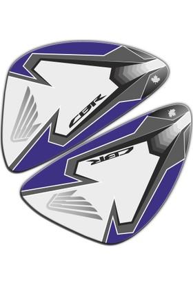 Honda CBR 250R Gri Mavi Depo Yan Pad
