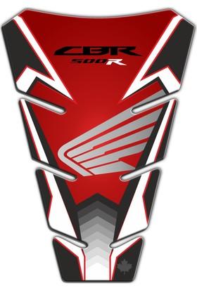 Honda CBR 500R Race Red Tank Pad