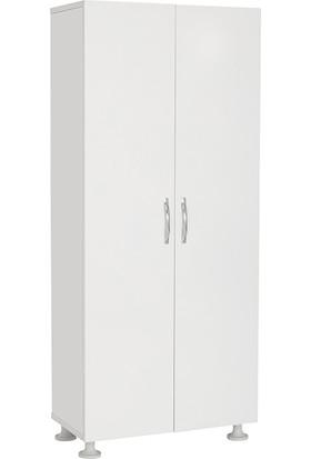 Mimilos D1 2 Kapılı 4 Raflı Modüler Mutfak Dolabı