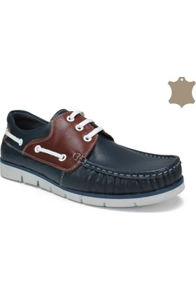 Sepetti Hakiki Deri Günlük Erkek Ayakkabı