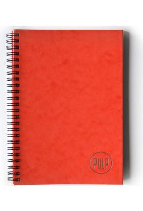 Pulp Lustre Orange Noktalı Defter (A5)
