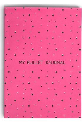 Pulp Bullet Journal Pink Noktalı Defter (A5)