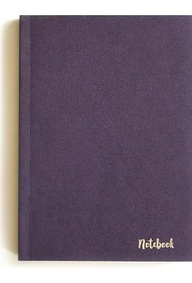 Pulp Sparkle Purple Noktalı Defter (A5)
