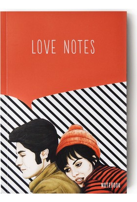 Pulp Love Notes Çizgili Defter (A5)