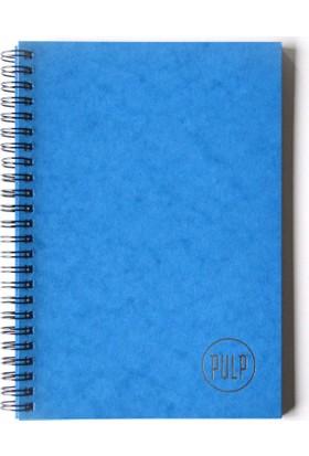 Pulp Lustre Blue Noktalı Defter