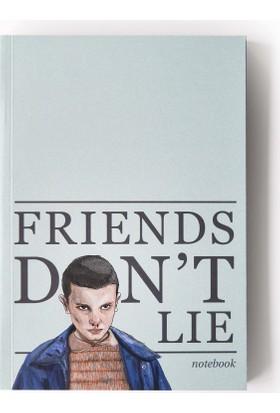 Pulp Friends Don't Lie I Çizgisiz Defter (A5)
