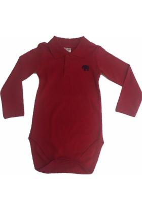Motherlove LF-LT01 Erkek Lacivert Filli Kırmızı Tshirt