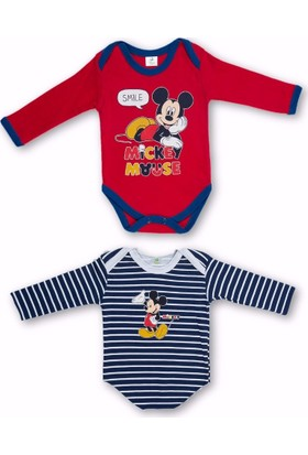 Disney MC05342 Erkek Mickey İkilibody