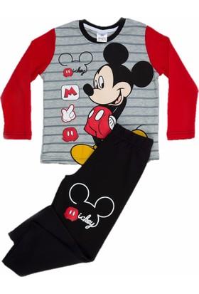 Disney MC5695 Erkek Mıckey Mouse Pijama Takımı